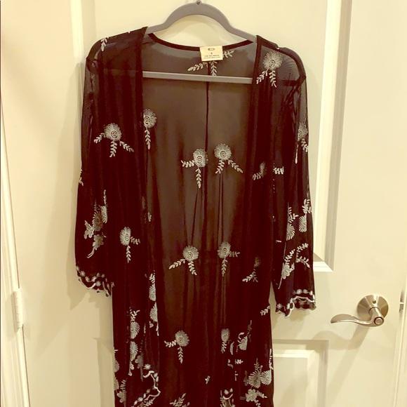 Pins & Needles Jackets & Blazers - Pins and Needles Kimono